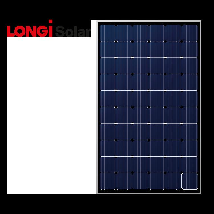 LONGi Solar 310 Wp Mono Silver frame
